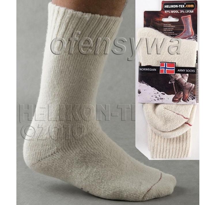 Helikon Norwegian Army Socks White e00d998d83ec