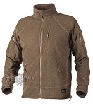 ALPHA TACTICAL Grid Fleece Jacket Coyote