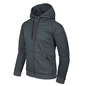 Urban Tactical Hoodie Helikon-Tex  Melange Black-Grey