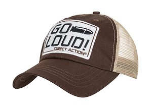 Direct Action Trucker Cap GO LUID!- Brown