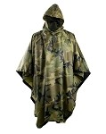 Waterproof Poncho Ripstop Helikon-Tex Woodland US
