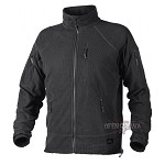 ALPHA TACTICAL Grid Fleece Jacket Black