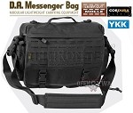 DIRECT ACTION Messenger Bag® Black