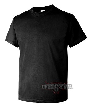 T-Shirt JHK 190g black 3,4,5 XL