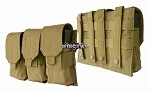 Triple Rifle Mag Pouch M/4,M/16 coyote/TAN