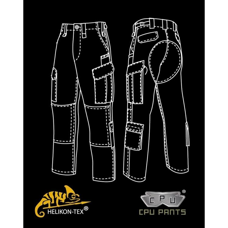 HELIKON Tex CPU Shorts Trousers Combat Patrol Uniform Coyote