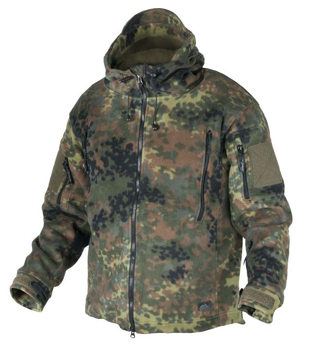 ff174f2bd858a Patriot Fleece Jacket Helikon-Tex -Flecktarn 390g