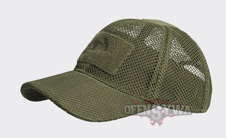 Baseball Cap Mesh Olive Green