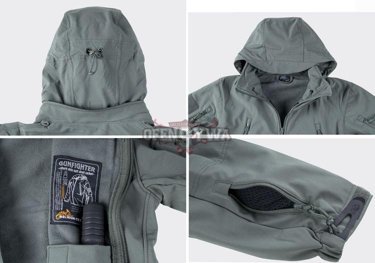 81a3b42e02 Gunfighter Soft Shell Jacket Helikon-Tex Shadow Grey
