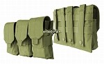 Triple Rifle Mag Pouch M/4,M/16 oliv