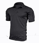 Elite Pro Polo Shirt Texar - Black
