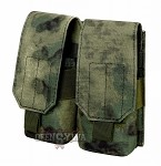 Double Rifle Mag Pouch M/4,M/16 A-Tacs FG
