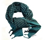 Shemagh Scarf Blue-Black