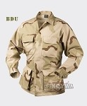 BDU Shirt Cotton 100% Ripstop Desert US