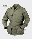BDU Shirt PollyCotton 60/40 Ripstop Olive