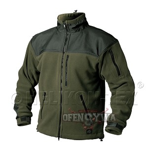Helikon-Tex Classic Army Fleece Jacket Black-Olive
