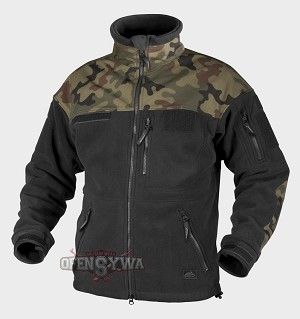 INFANTRY Jacket - Fleece - Black /PL Woodland