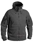 Patriot Fleece Jacket Helikon-Tex Black 390g