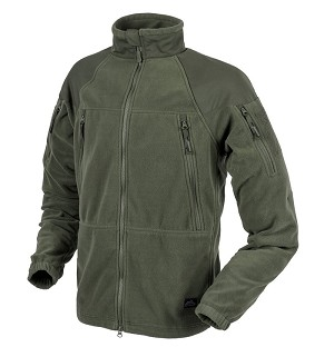 Stratus Jacket Helikon - Heavy Fleece - Olive Green 320g