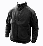 FLRA Fleece Jacket 330g - Black
