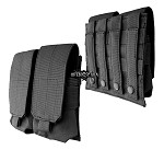 Double Rifle Mag Pouch M/4,M/16 black