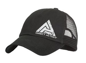 Direct Action Trucker Cap DA Feed - Black