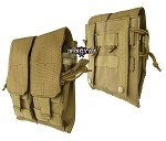 Double Mag Pouch M/4,M/16,AK74 coyote/TAN