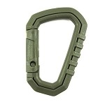 Universal EDC carabiner olive