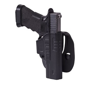 Fast Draw Holster for Glock 17 with Paddle-black