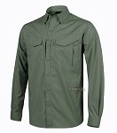 Defender Helikon Shirt (long-sleeved) - Olive Green