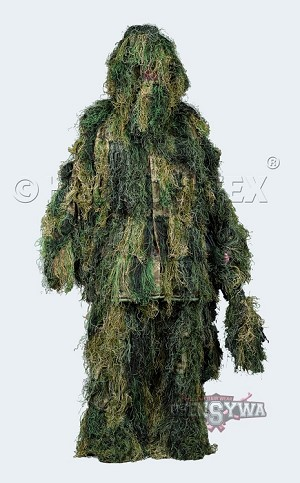 Camouflage Ghillie Suit Digital Woodland