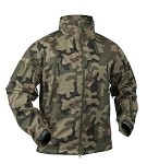 Gunfighter Soft Shell Jacket Helikon Polish woodland