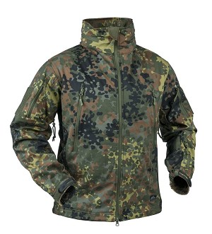 Gunfighter Soft Shell Jacket Helikon-Tex Flecktarn