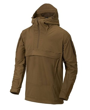 Helikon-Tex Anorak MISTRAL Soft Shell Jacket - Mud Brown