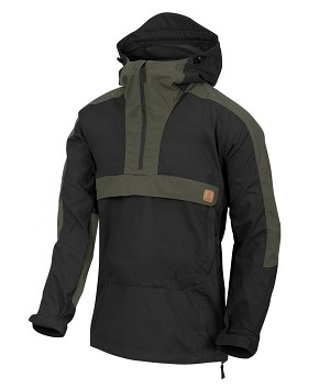 Helikon-Tex Anorak WOODSMAN Jacket Black / Taiga Green