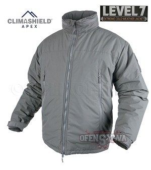 LEVEL 7 Helikon-Tex Jacket Climashield® alpha green