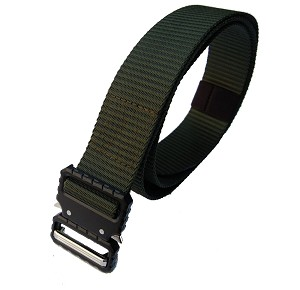 Tactical belt - universal for pants Olive Green 3.8cm.