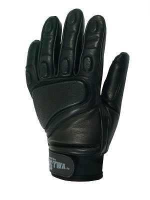 Leather tactical gloves RTS ofensywa -black
