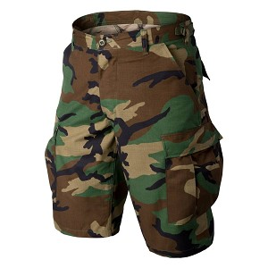 Shorts BDU HELIKON-TEX woodland US