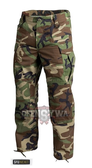 SFU NEXT Helikon-Tex Trousers RipStop -Woodland US