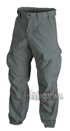 Trousers Soft Shell Helikon Level V Alpha Green