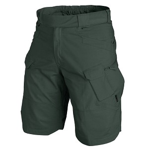 "Helikon-Tex UTK RipStop Jungle Green 11 ""short pants"