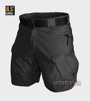 URBAN TACTICAL SHORTS  Ripstop Black 8,5""