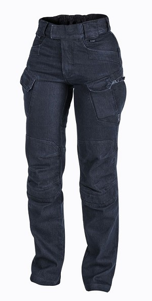 Women Tactical Pants Helikon UTW, UTL- Denim - Dark Blue