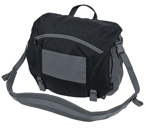 Helikon-Tex URBAN COURIER BAG Large - Black / Shadow Grey