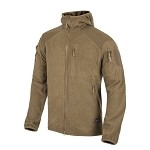Helikon-Tex Alpha Tactical HOODIE Grid Fleece - Coyote