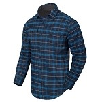 Helikon-Tex GreyMan shirt - Blue Stonework Plaid