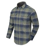 Helikon-Tex GreyMan shirt - Blast Blue Plaid