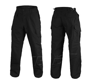 Combat Uniform Pants WZ10 Ripstop Black
